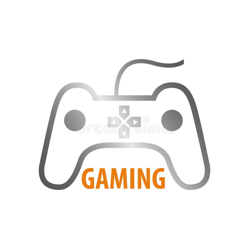 Kija hazardu logo pojęcia projekt Symbolu szablonu graficzny element ilustracja wektor