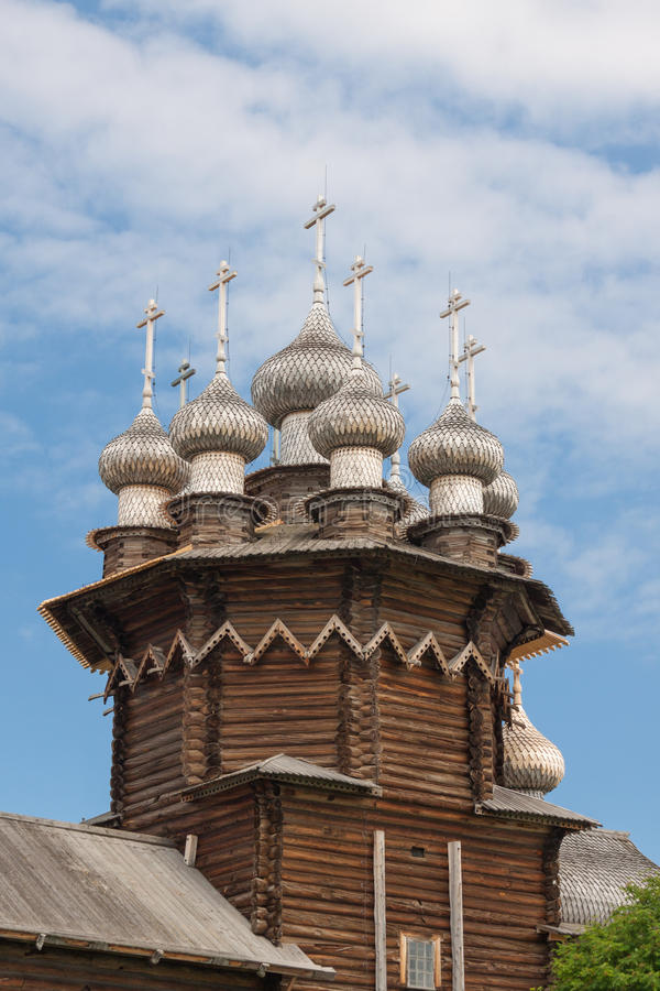 Free Kiji Church On The Blue Sky Stock Photography - 82155402