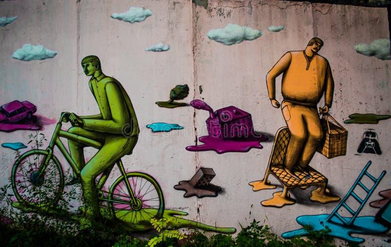 Kijowska Ukraina sztuka w Kijów zdjęcie stock