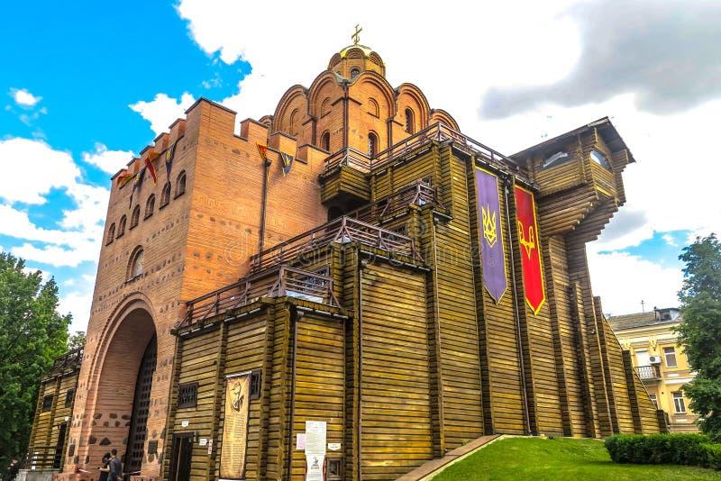 Kijowski golden gate 02 fotografia stock