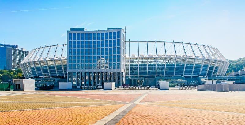 Kijowski Olimpijski stadium zdjęcia stock
