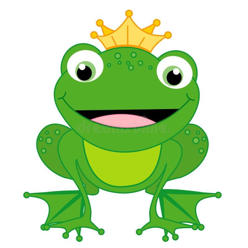 Kikker royalty-vrije illustratie