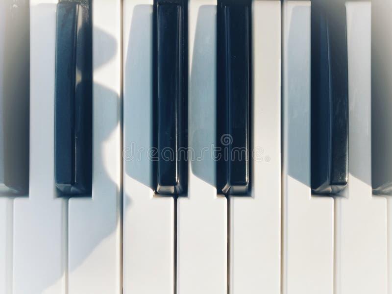 Kil av pianot arkivfoton
