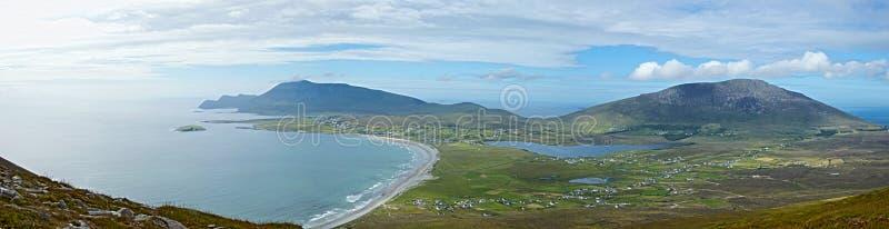 Kil plaża, Achill wyspa, Irlandia obrazy stock