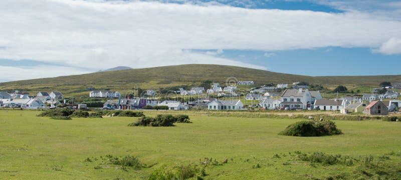 Kil wioska na Achill wyspie obraz stock