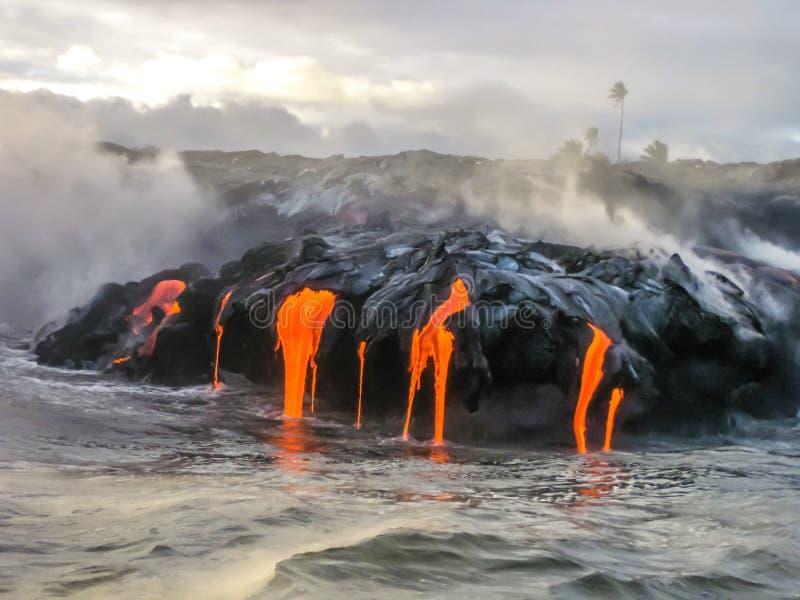Kilauea Χαβάη στοκ φωτογραφίες με δικαίωμα ελεύθερης χρήσης