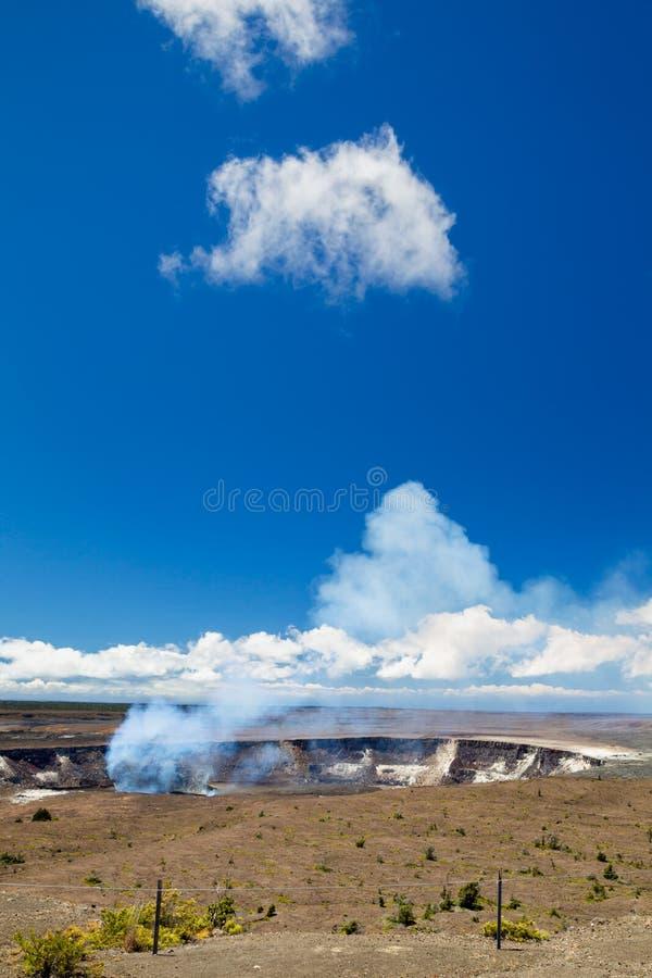 Kilauea, Duża wyspa zdjęcia royalty free