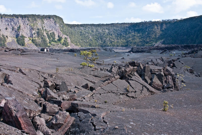 Download Kilauea Iki Crater stock image. Image of landscape, vacation - 21210115