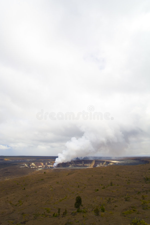 Kilauea Kessel, Kona, HI lizenzfreie stockfotos