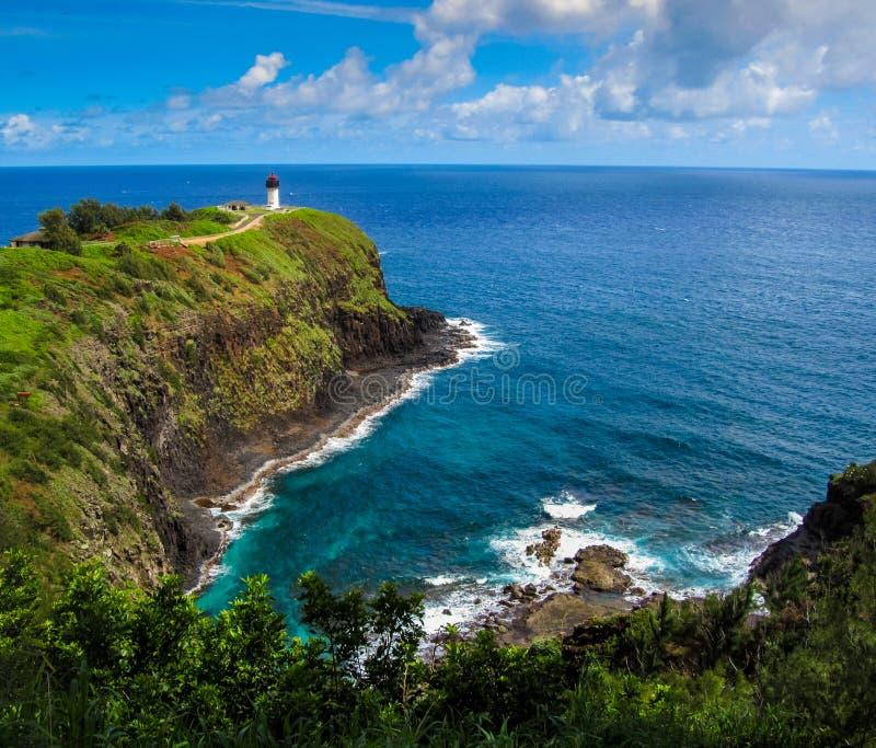 Kilauea latarnia morska zdjęcia royalty free