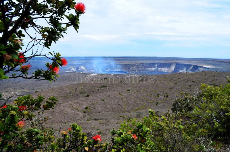 Kilauea Volcano Hawaii images stock