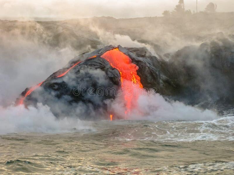 Kilauea Volcano Hawaii photographie stock