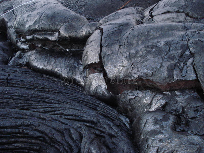 Kilauea Volcano Lava Rock stock photography