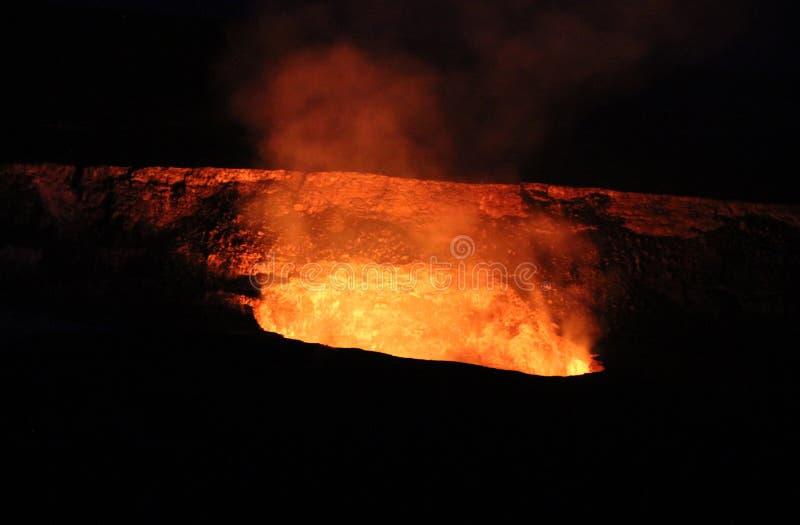 Kilauea wulkan obraz stock