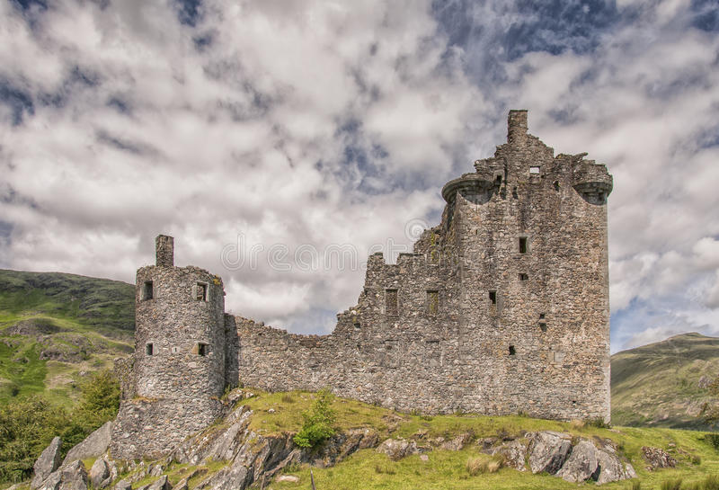 Kilchurn城堡02 图库摄影