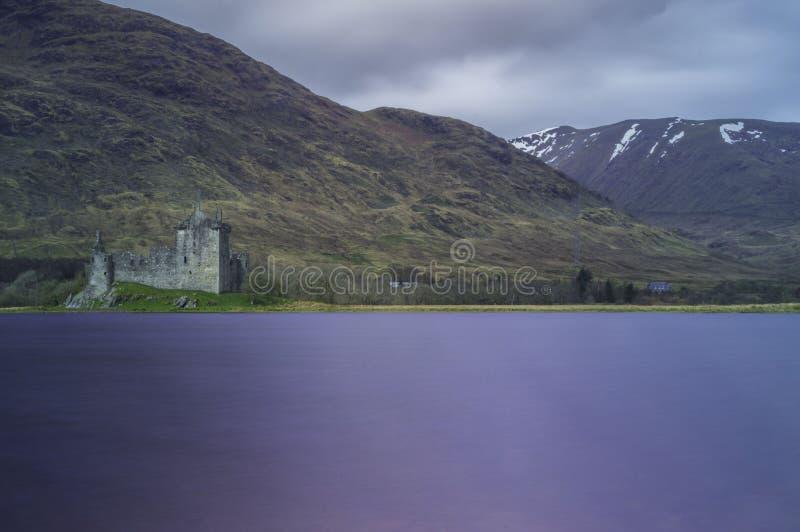 Kilchurn城堡 库存图片
