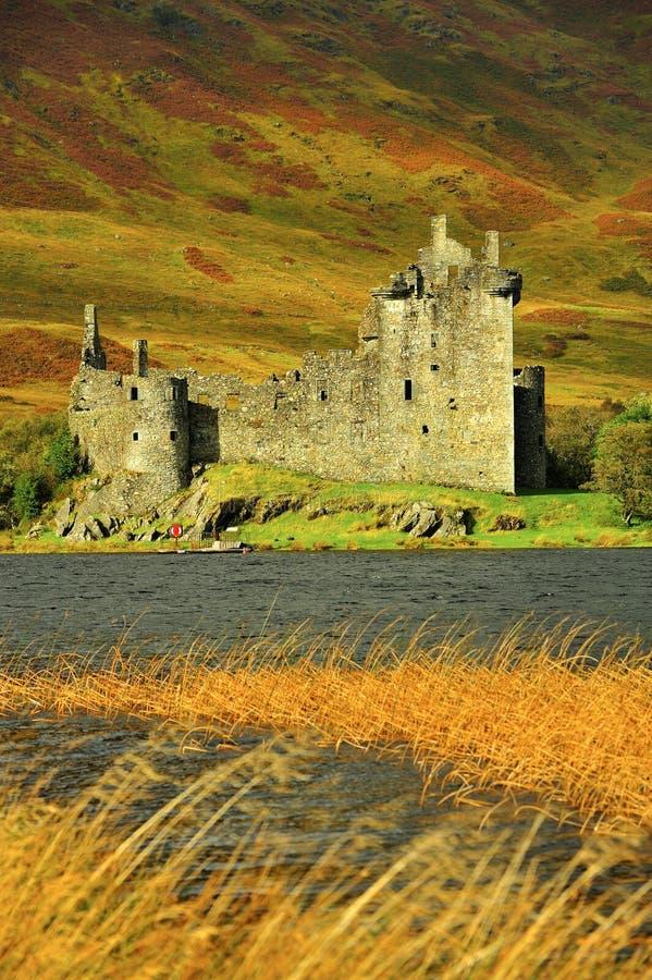 Kilchurn Шотландия замока Стоковая Фотография RF