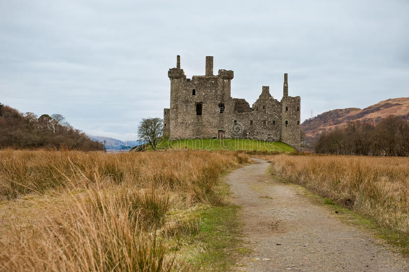 Download Kilchurn Castle stock photo. Image of argyll, keep, dungeon - 19102270