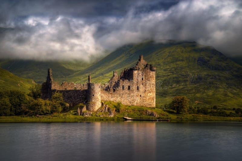 Kilchurn Castle στοκ εικόνες με δικαίωμα ελεύθερης χρήσης