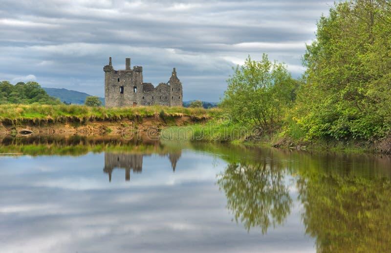 Kilchurn Schloss, Schottland stockfotografie