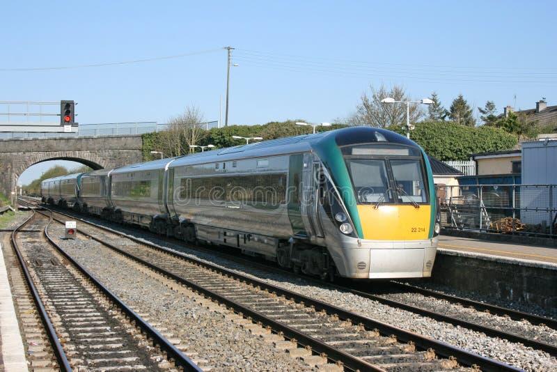 Kildare station ,Ireland, April 2010, an Iarnrod Eireann railway service royalty free stock photo
