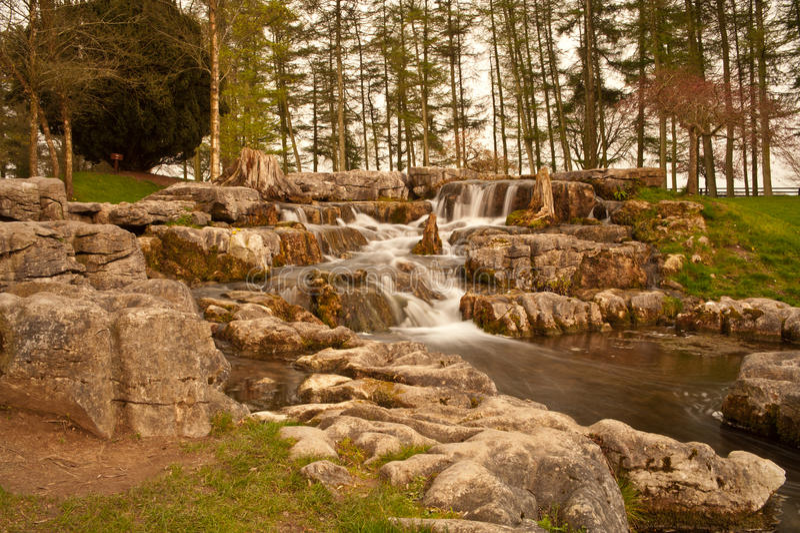 Kildare waterfall royalty free stock photos