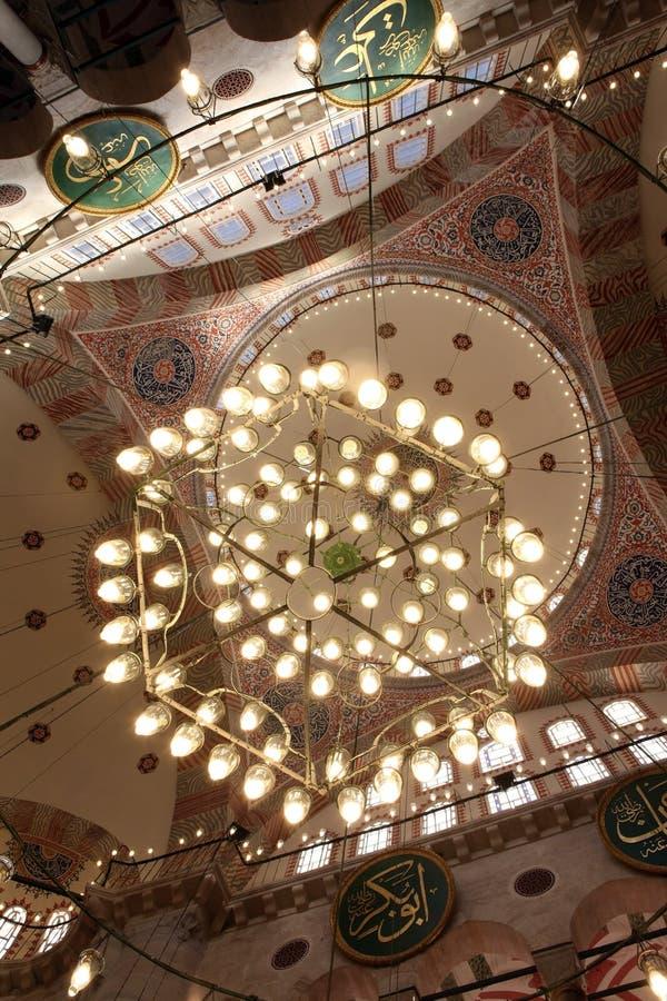 Kilic Ali Pasha Mosque Royalty Free Stock Photo