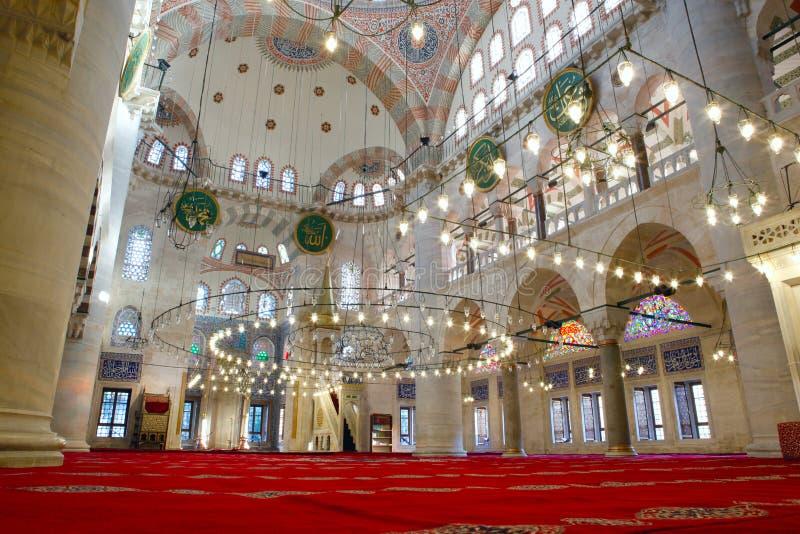 Download The Kilic Ali Pasha Mosque stock image. Image of carpet - 22622425