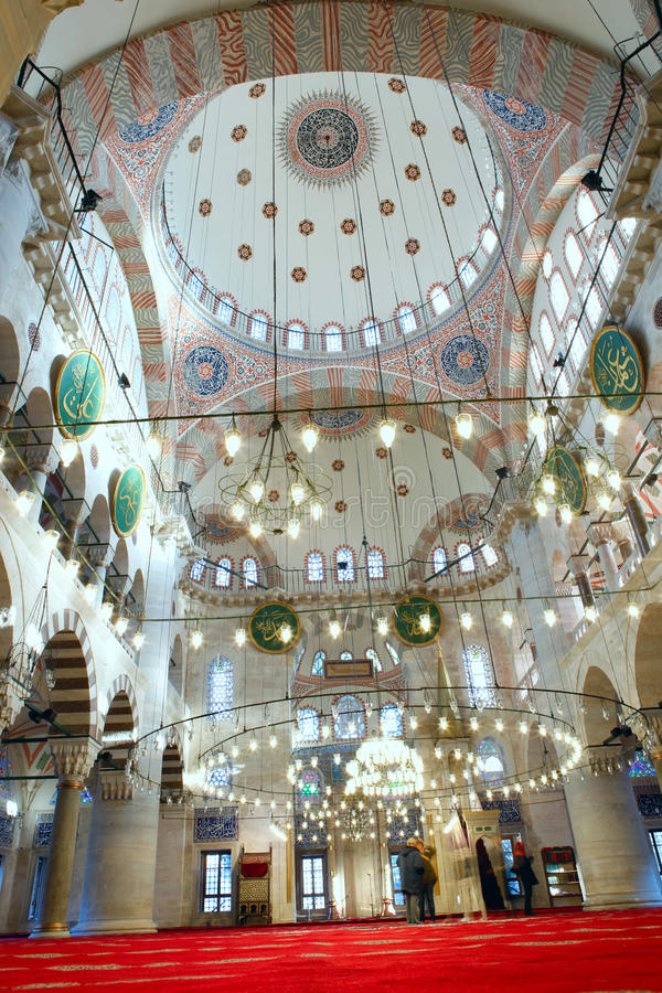 The Kilic Ali Pasha Mosque. In Istanbul,Turkey stock photography