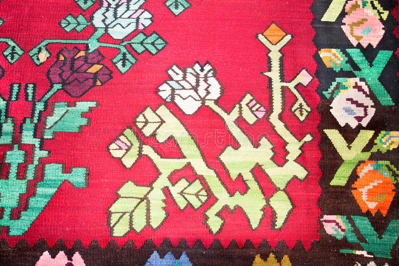 Download Kilim , Traditional Wool Rug Stock Illustration - Image: 24672547