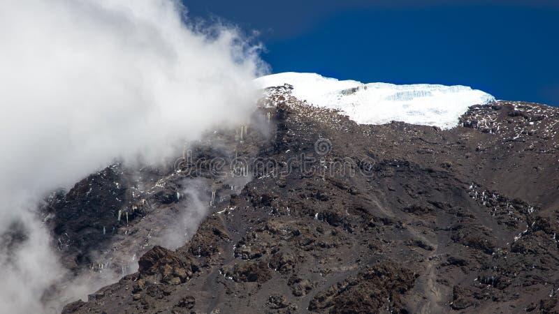 Kilimanjaro 5895 μ στοκ φωτογραφία με δικαίωμα ελεύθερης χρήσης