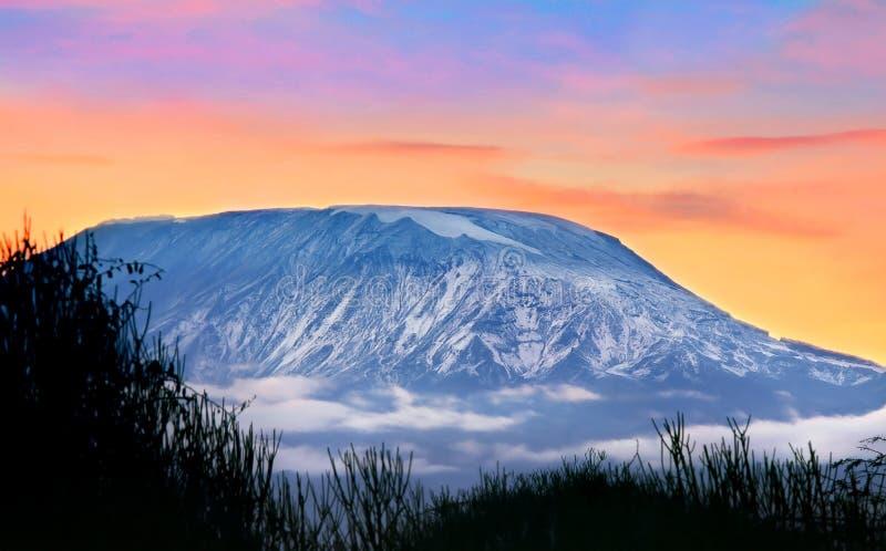 Kilimanjaro immagini stock