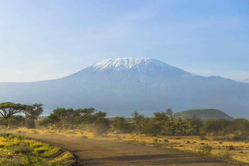 Kilimanjaro em Kenya imagens de stock royalty free