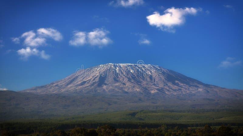 kilimanjaromontering tanzania royaltyfri foto