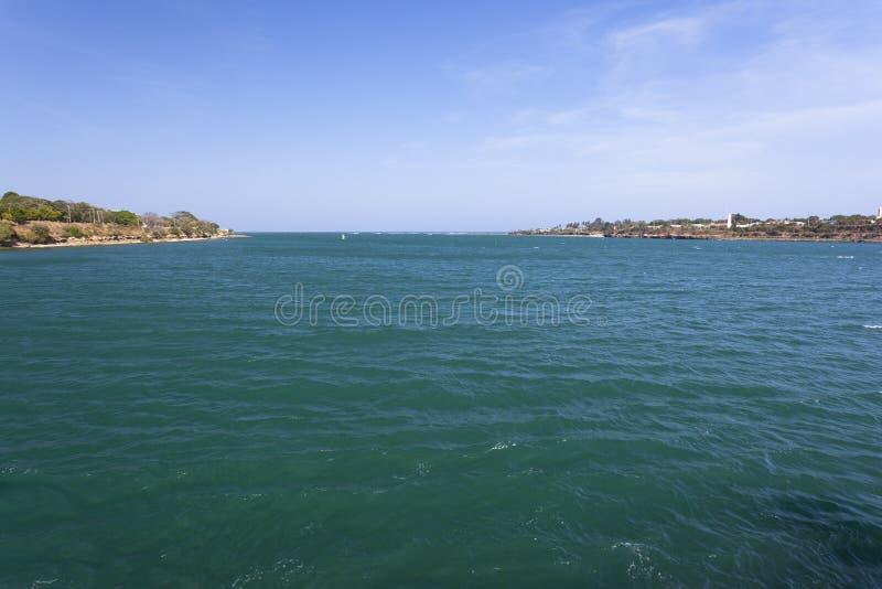 Kilindini zatoka w Mombasa, Kenja obraz stock