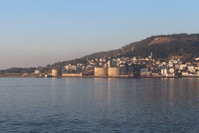 Download Kilitbahir Castle stock photo. Image of dardanelles - 112858264