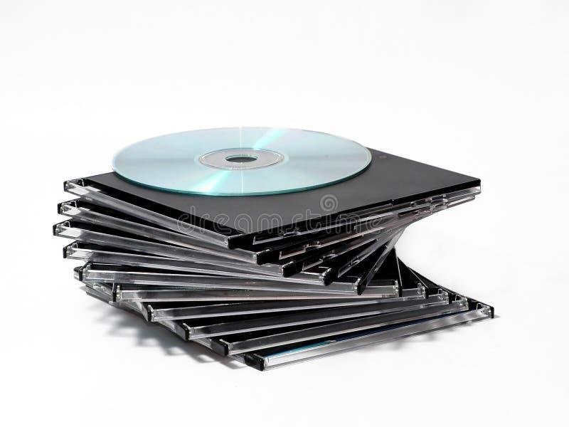 kilka cd fotografia stock