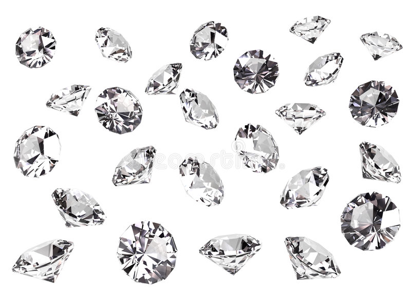 kilka diamentów