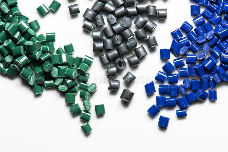 Kilka farbujący polimerów żywicy fotografia royalty free