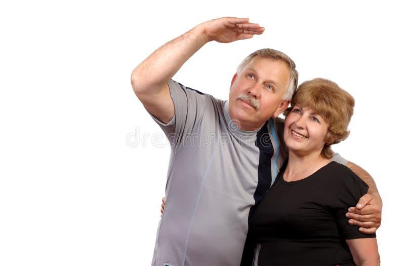 kilka osób starszych zdjęcie royalty free