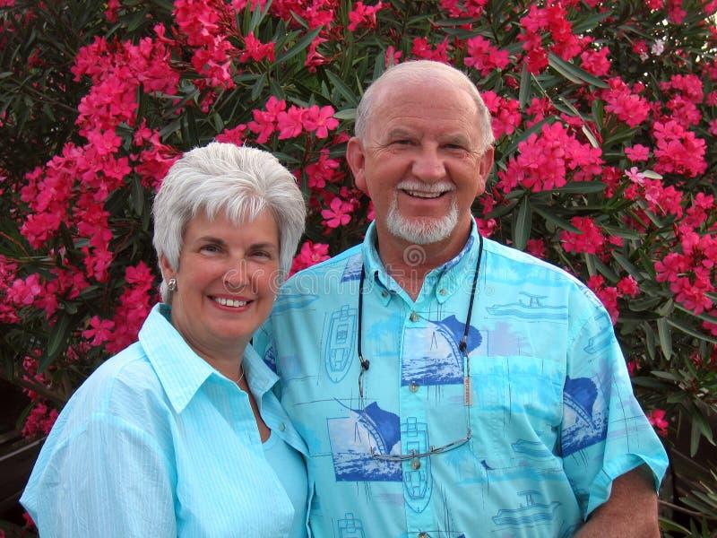 kilka szczęśliwy na emeryturę zdjęcia stock
