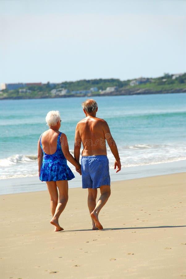 kilka szczęśliwy na emeryturę zdjęcie royalty free