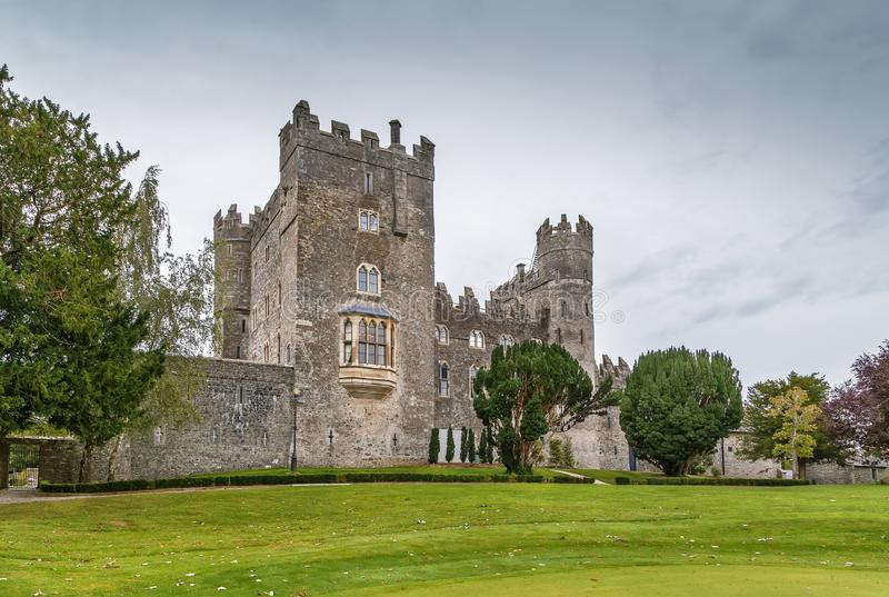 Kilkea kasztel, Irlandia obrazy stock