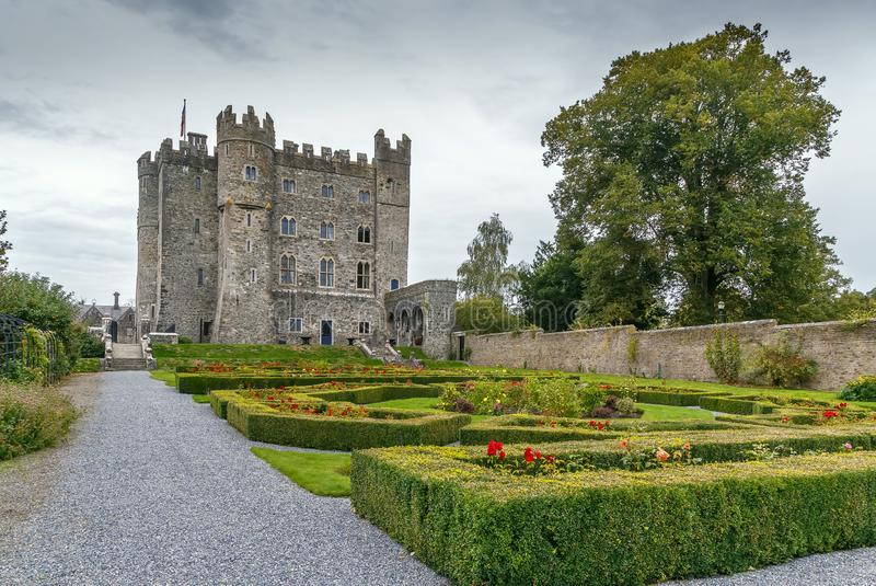 Kilkea kasztel, Irlandia obraz stock