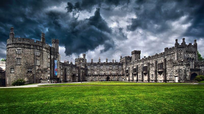 Spooky Castle stock photography