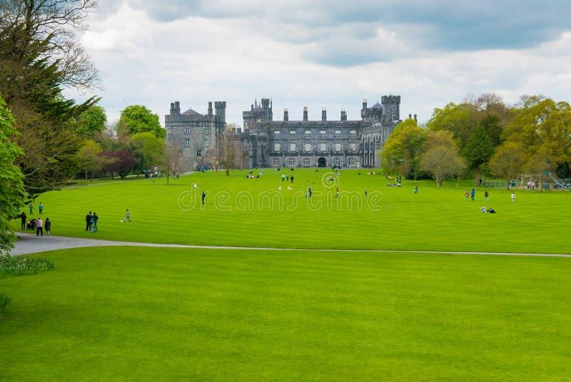 Kilkenny castle stock photos