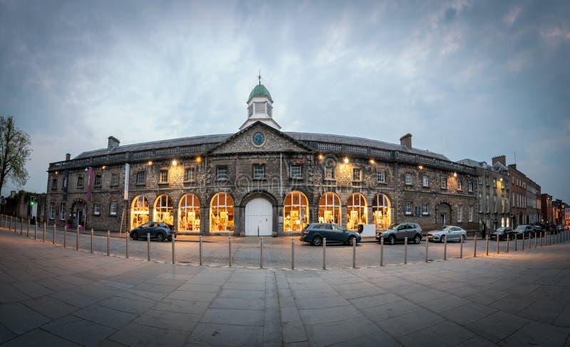 Kilkenny Design Centre Ireland. Kilkenny Design Centre occupies a landmark building overlooking Kilkenny Castle in the heart of Kilkenny City royalty free stock photography