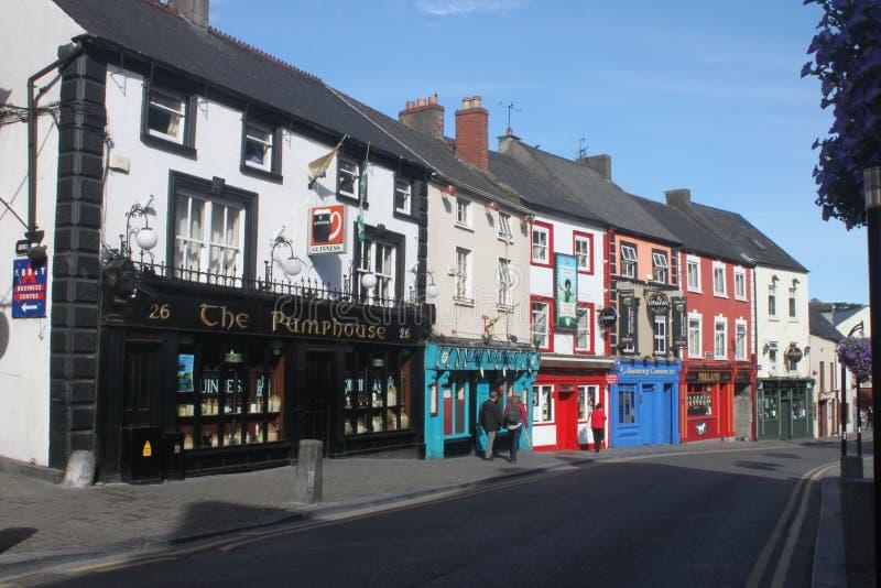 Kilkenny pubs royalty free stock photo