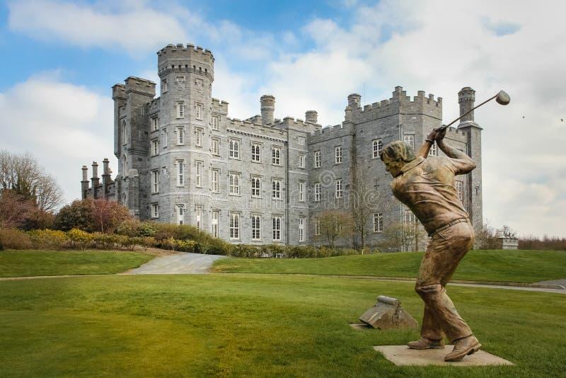 Killeen slott Dunsany ståndsmässiga Meath ireland royaltyfri fotografi