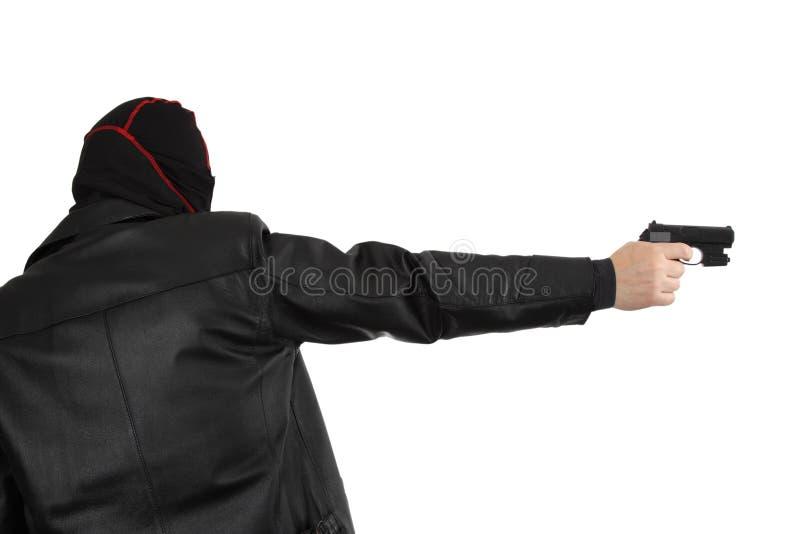 Download Killer stock image. Image of hooded, mobster, thug, murderer - 14496627